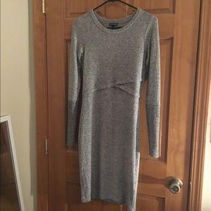 Express beautiful long sleeve dress sz Small EUC